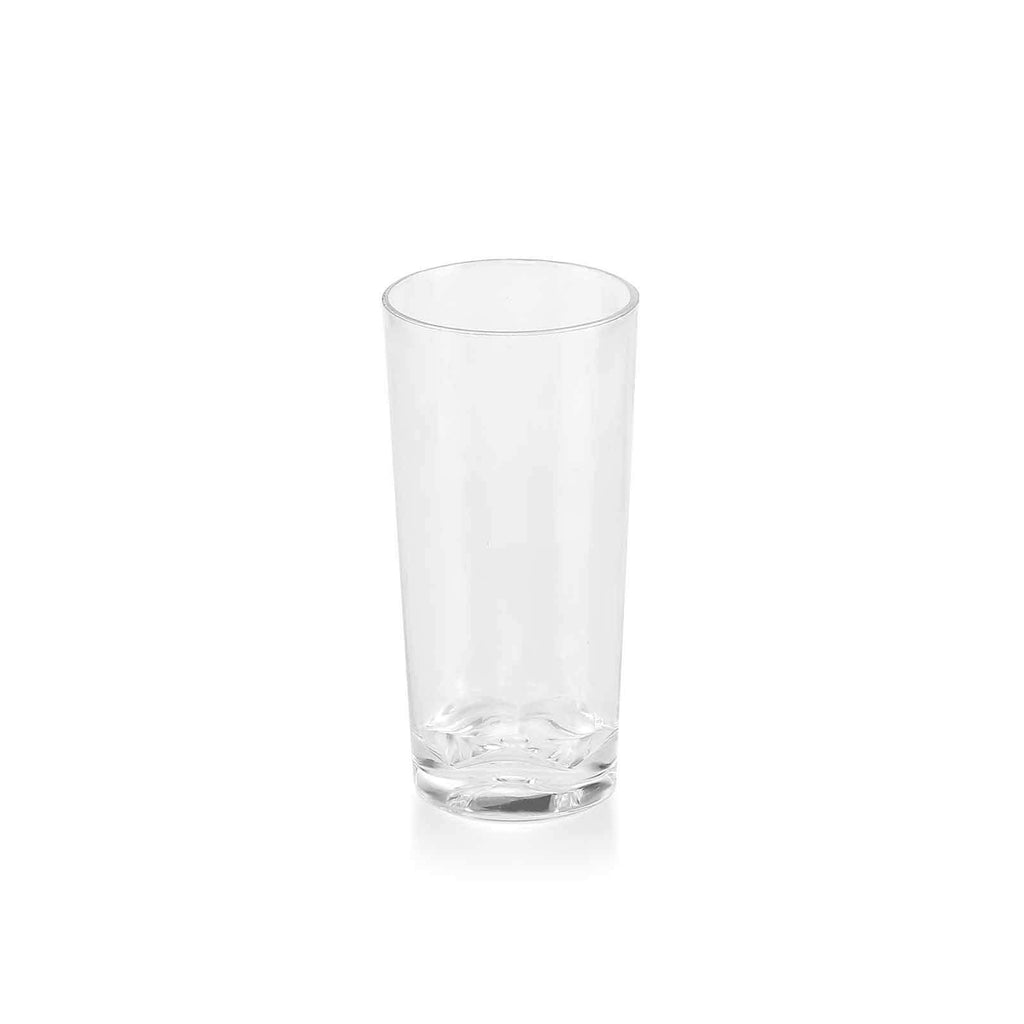 12 Pack 2 oz Plastic Round Straight Wall Disposable Shooter Dessert Glasses