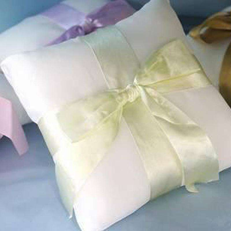 Sage The Knot Ring Pillow