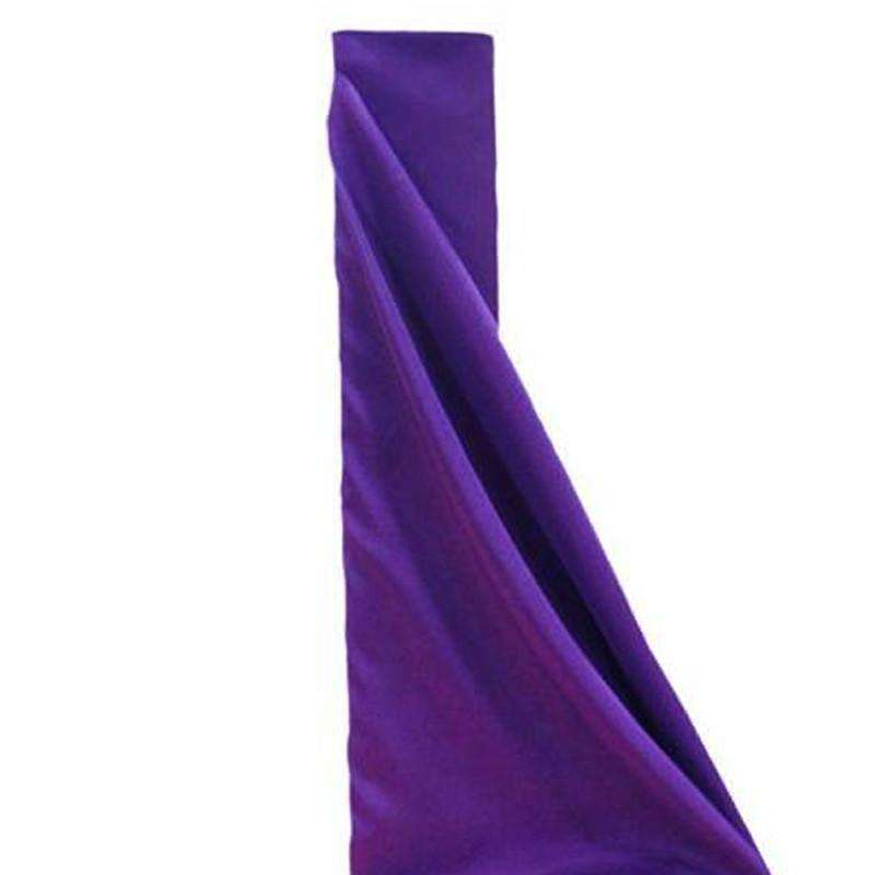 "PURPLE Polyester Wedding Banquet Restaurant Wholesale Fabric Bolt - 54"" x 10 YARDS"