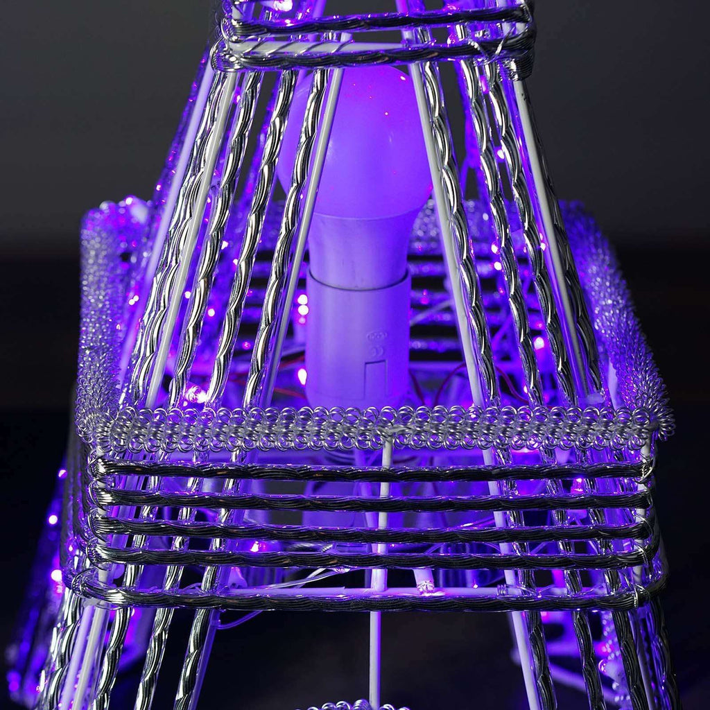 "39"" 1PC. Color Changing LED Metal Eiffel Tower Wedding Event Party Columns"