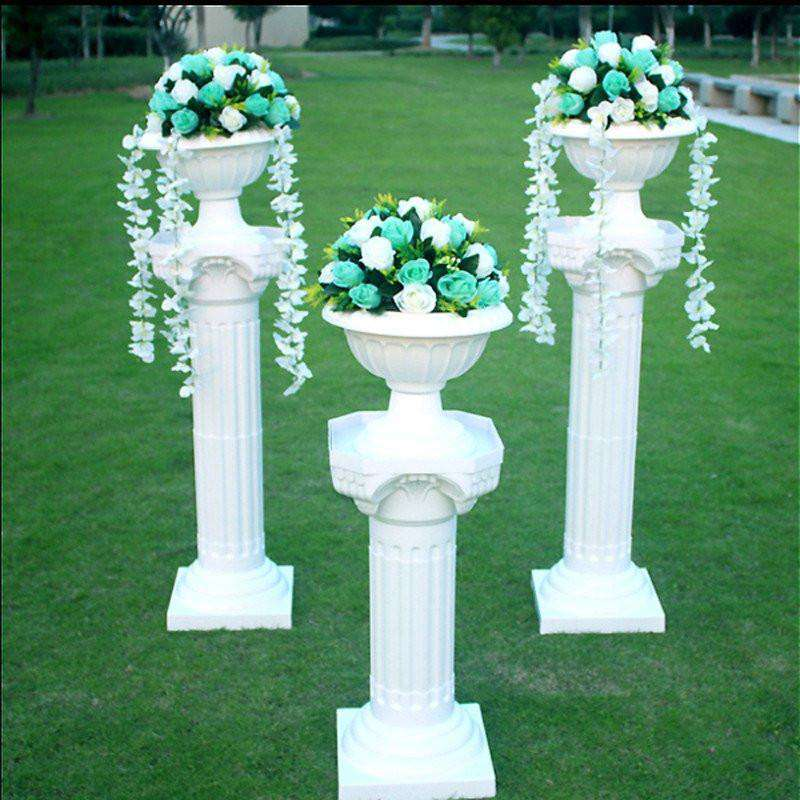 Classic Italian Inspired Decorative Flower pot - 4 PCS/Set
