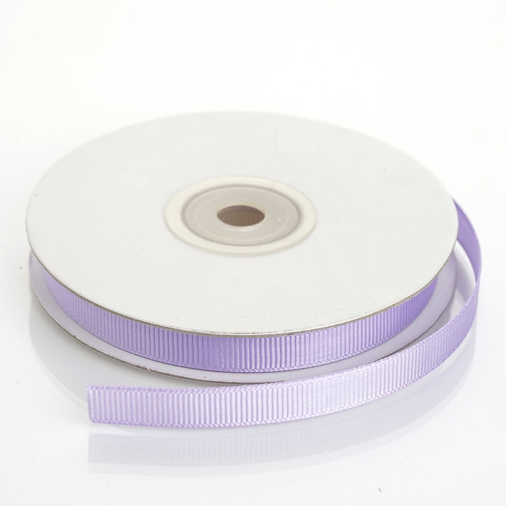 "25 Yards 3/8"" DIY Lavender Grosgrain Ribbon"