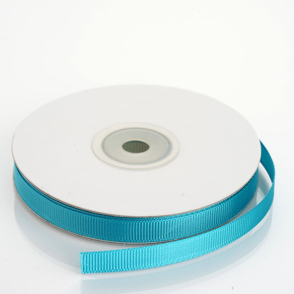 "25 Yards 3/8"" DIY Turquoise Grosgrain Ribbon"