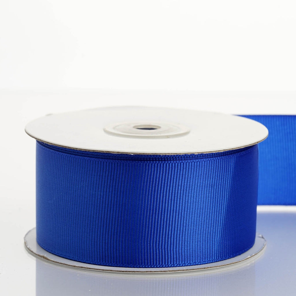"25 Yards 1.5"" DIY Royal Blue Grosgrain Ribbon Decoration"