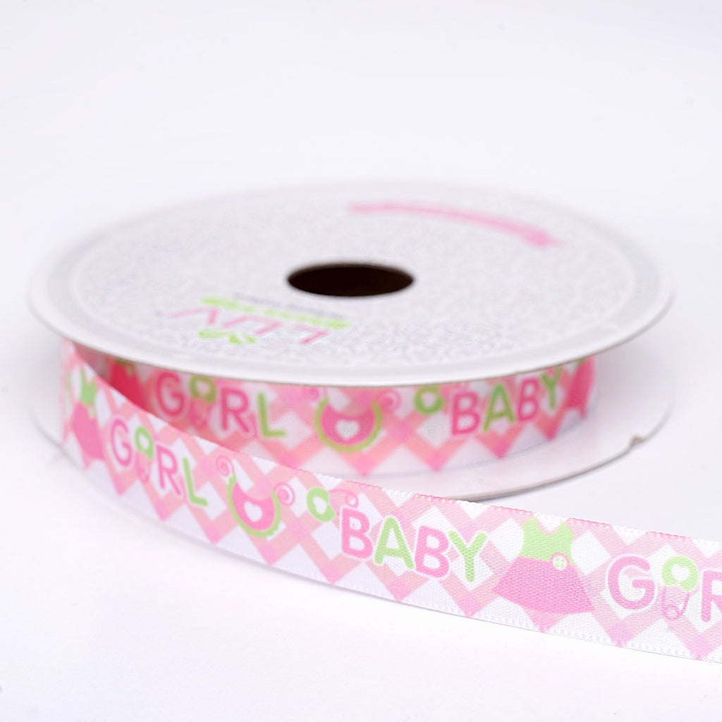 "10 Yards 5/8"" DIY Pink Grosgrain Ribbon"