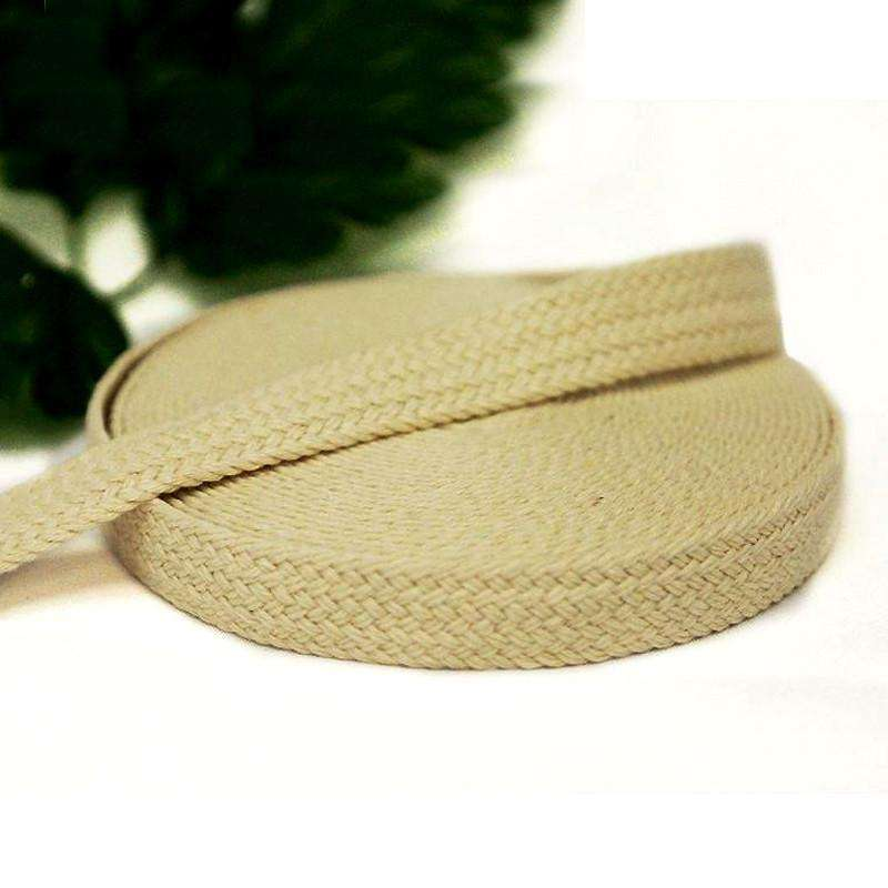 "Picture Perfect Woven Trim - Ivory 7/8"" x 10yards - Burlap"
