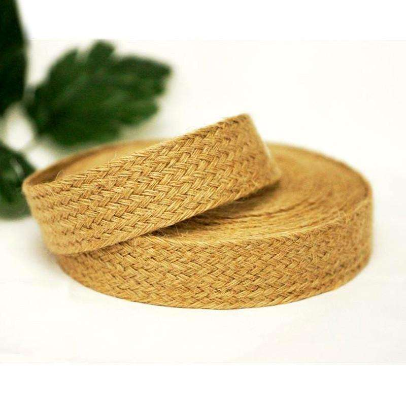 "Picture Perfect Woven Trim - Natural 1.25"" x 10yards - Burlap"