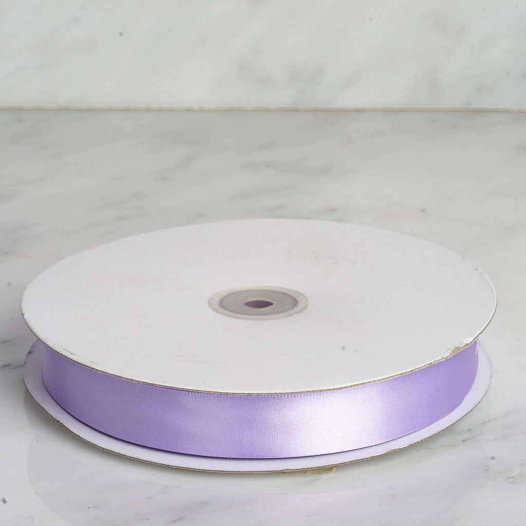 "100 Yards 7/8"" DIY Lavender Satin Ribbon"