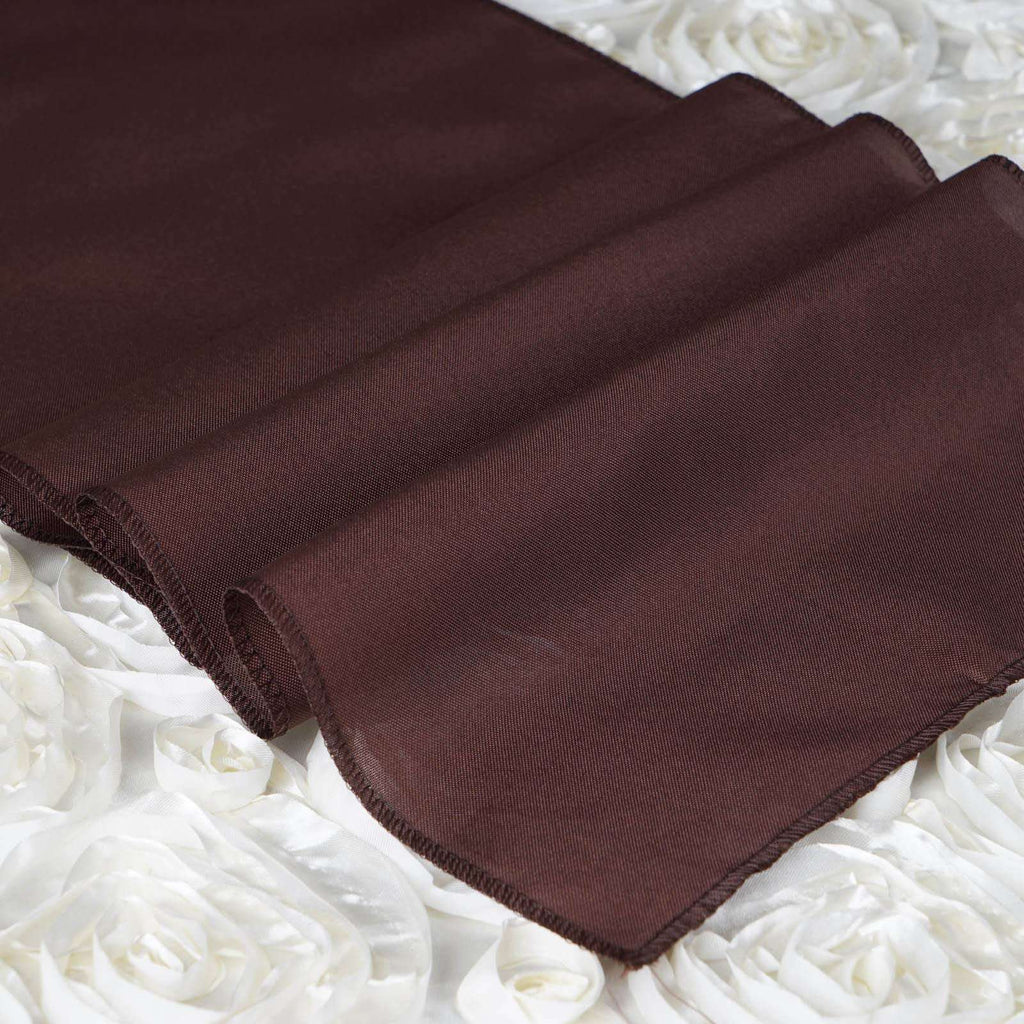 CHOCOLATE Polyester Runner - Table Top Wedding Catering Party Decorations