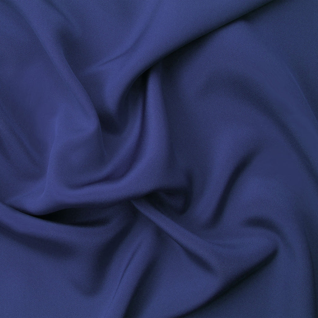 "12"" x 3 Yards Navy Blue Polyester Fabric by Yards"