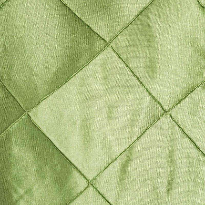 5pc x Chair Sash Pintuck - Apple Green