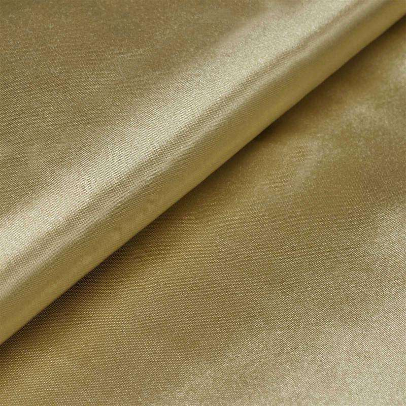 "Wedding Party Bridal Dress Decorative Satin Fabric Bolt - CHAMPAGNE - 54"" x 10 Yard"