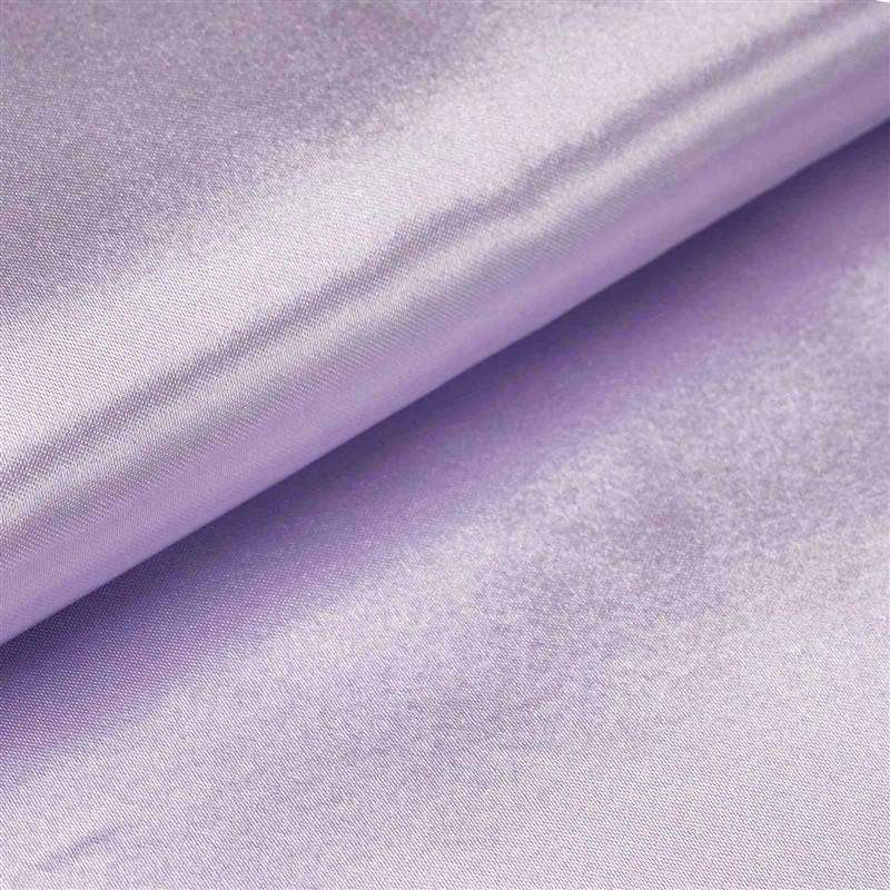 "Wedding Party Bridal Dress Decorative Satin Fabric Bolt - LAVENDER - 54"" x 10 Yards"