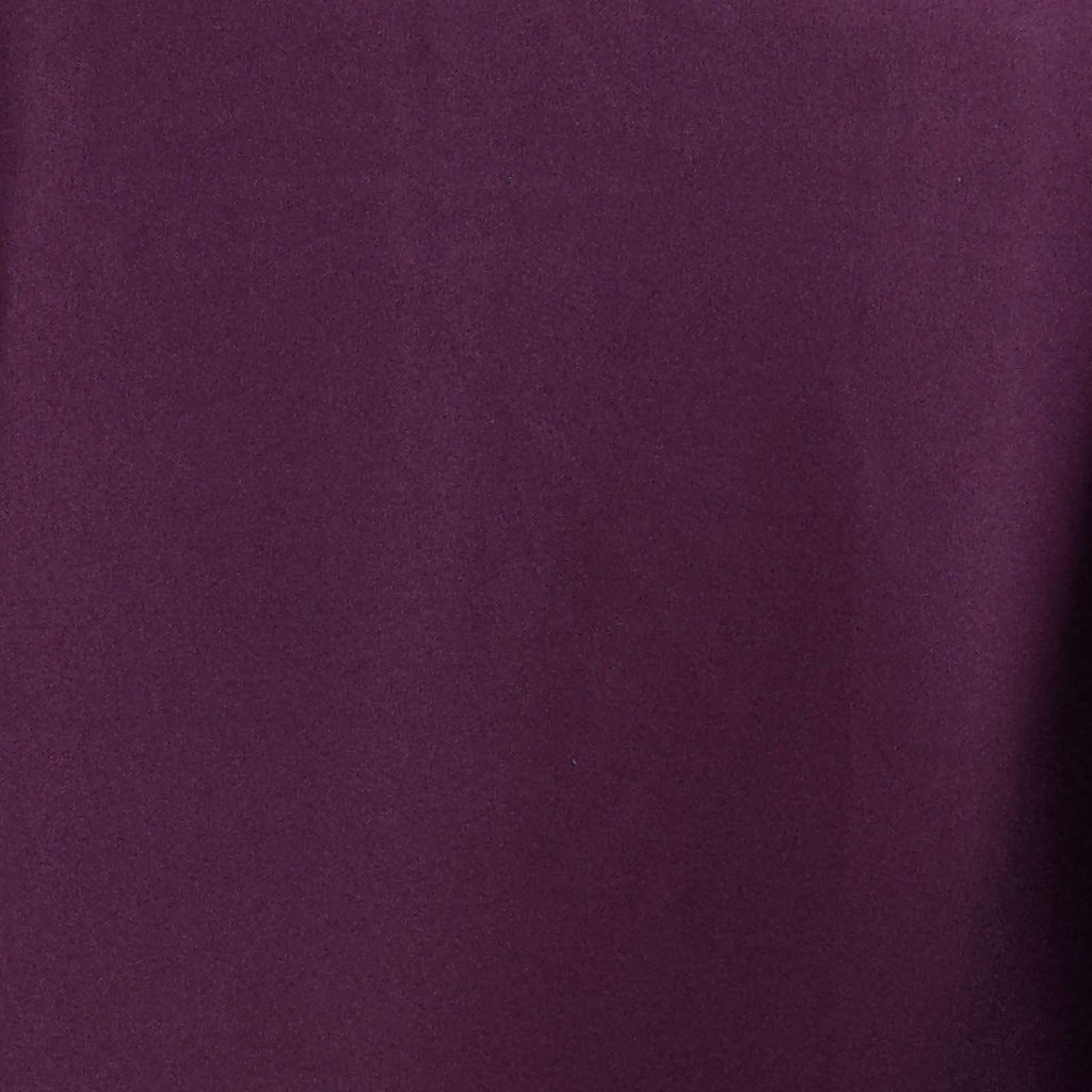 "72x120"" EGGPLANT Wholesale Polyester Banquet Linen Wedding Party Restaurant Tablecloth"