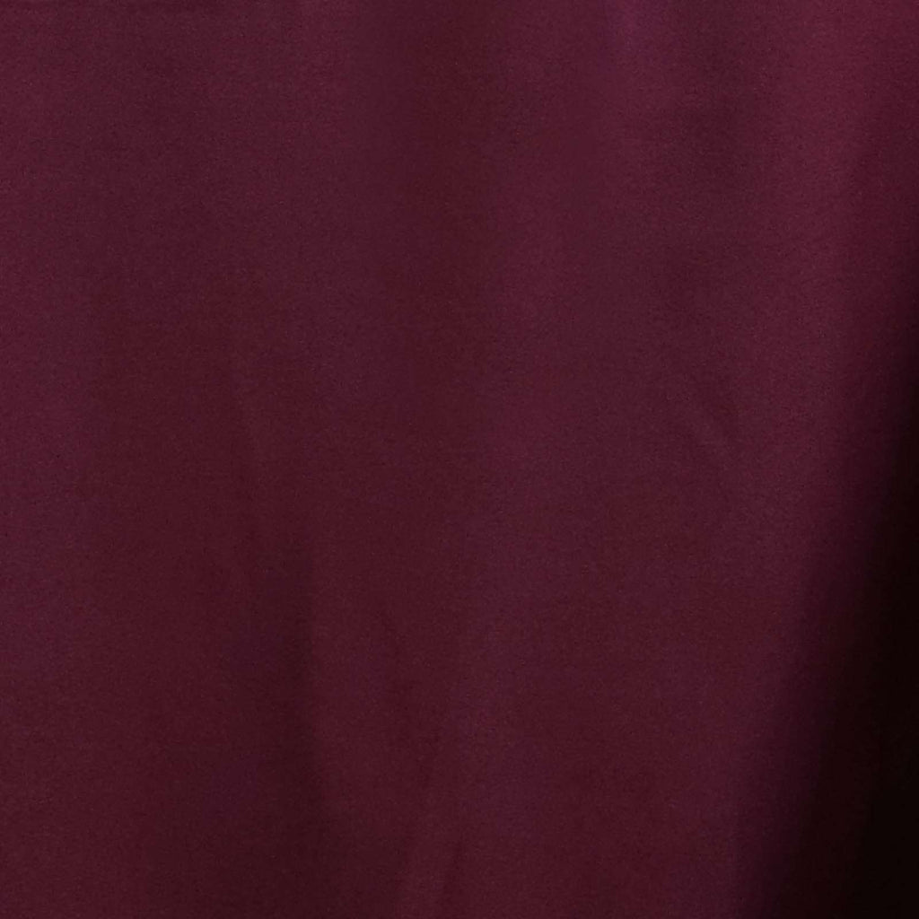 "90x132"" BURGUNDY Wholesale Polyester Banquet Linen Wedding Party Restaurant Tablecloth"