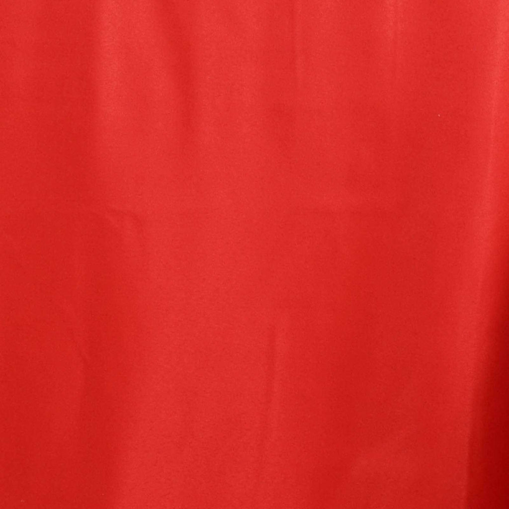 "90x132"" RED Wholesale Polyester Banquet Linen Wedding Party Restaurant Tablecloth"