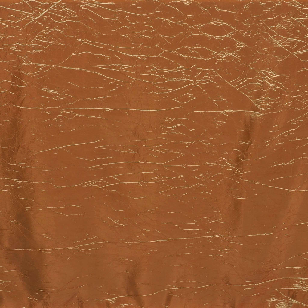 Gold Crinkle Taffeta Tablecloth 90x156""
