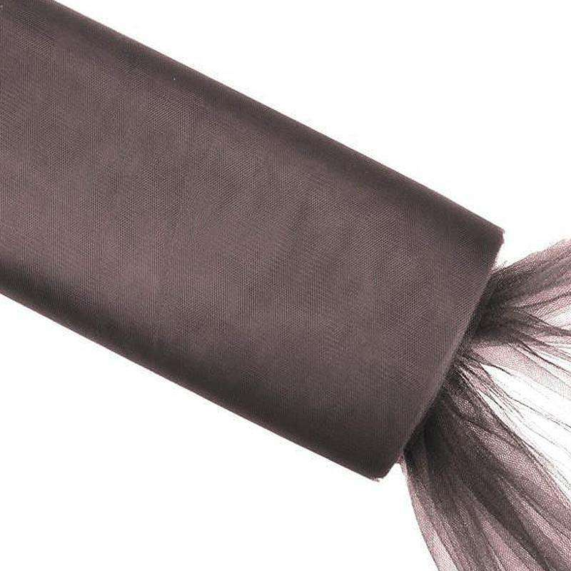 "54"" x 40yd tulle bolt - Chocolate"
