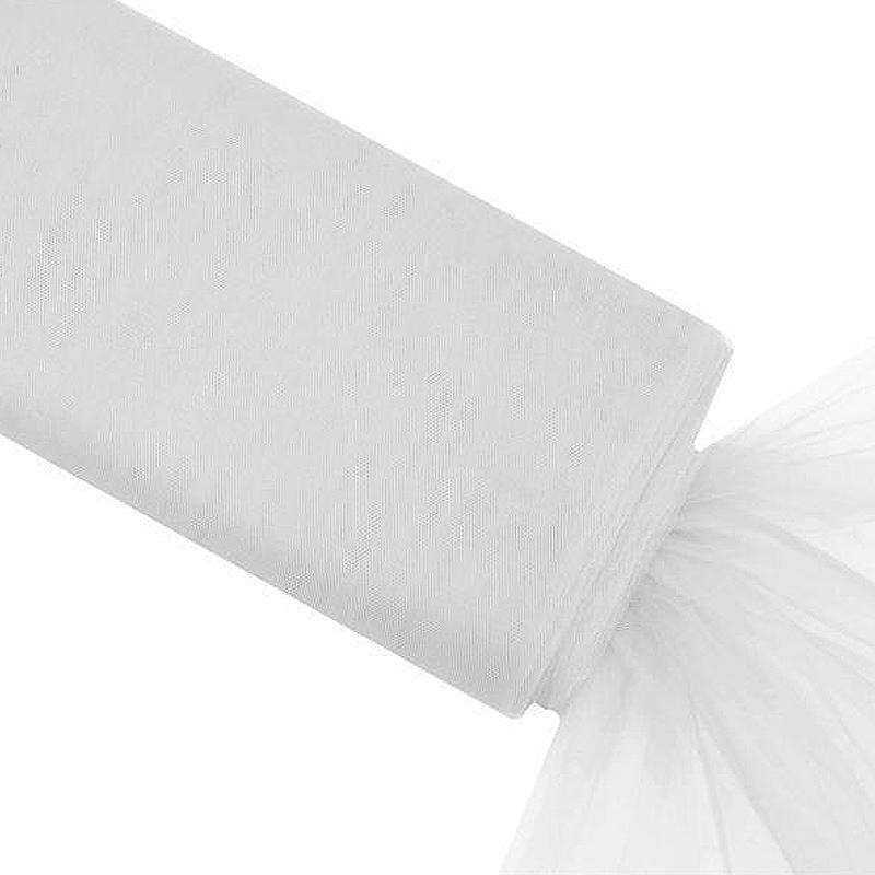 "54"" x 40yd tulle bolt - White"