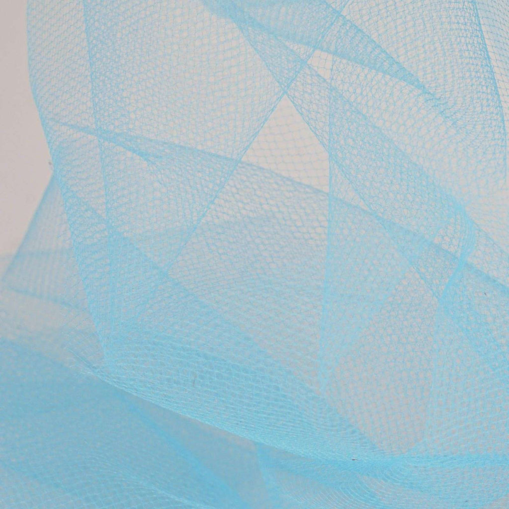 "6""x25yd Tulle Rolls - Turquoise"