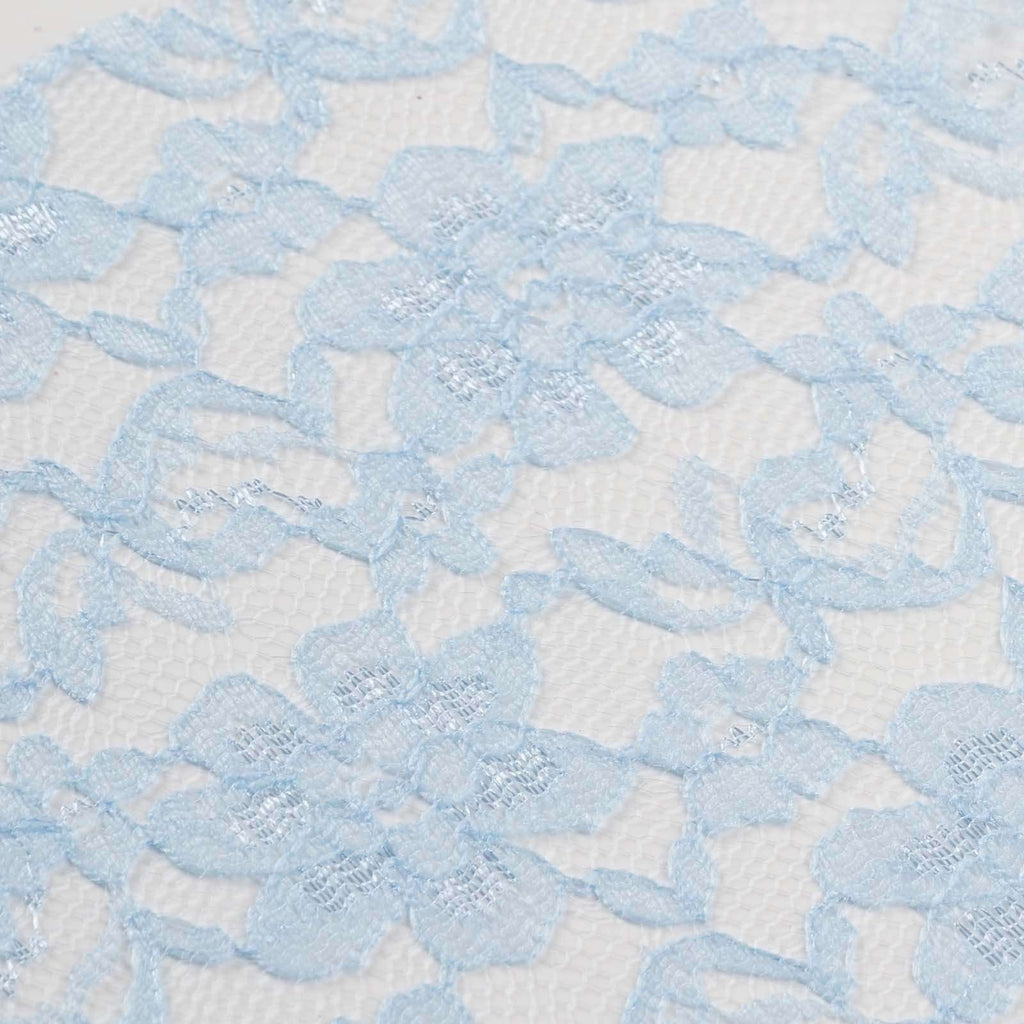 "Festive Floral Lace Fabric Roll - Serenity- 6""X10 YARDS"
