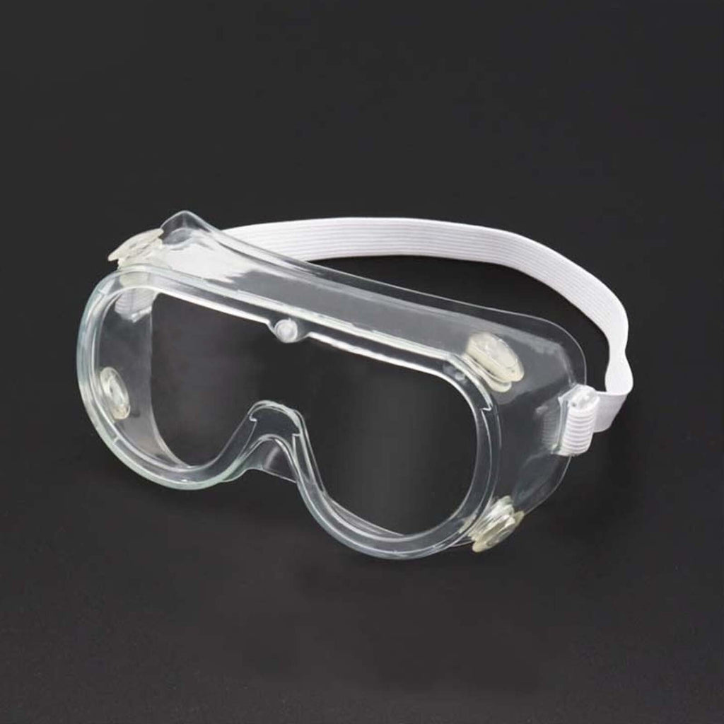 Adjustable Scratch Resistant Safety Goggles, Protective Eyewear Anti Fog Goggles