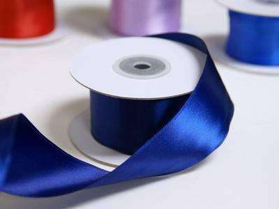 "1.5"" Wired Satin Ribbon - Navy Blue - 10 Yard"