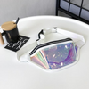 White Holographic Bum Bag