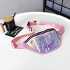 Pink Holographic Bum Bag