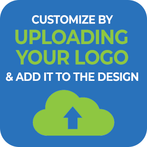 Customize by uploading your logo and add it to the design! - Your logo here