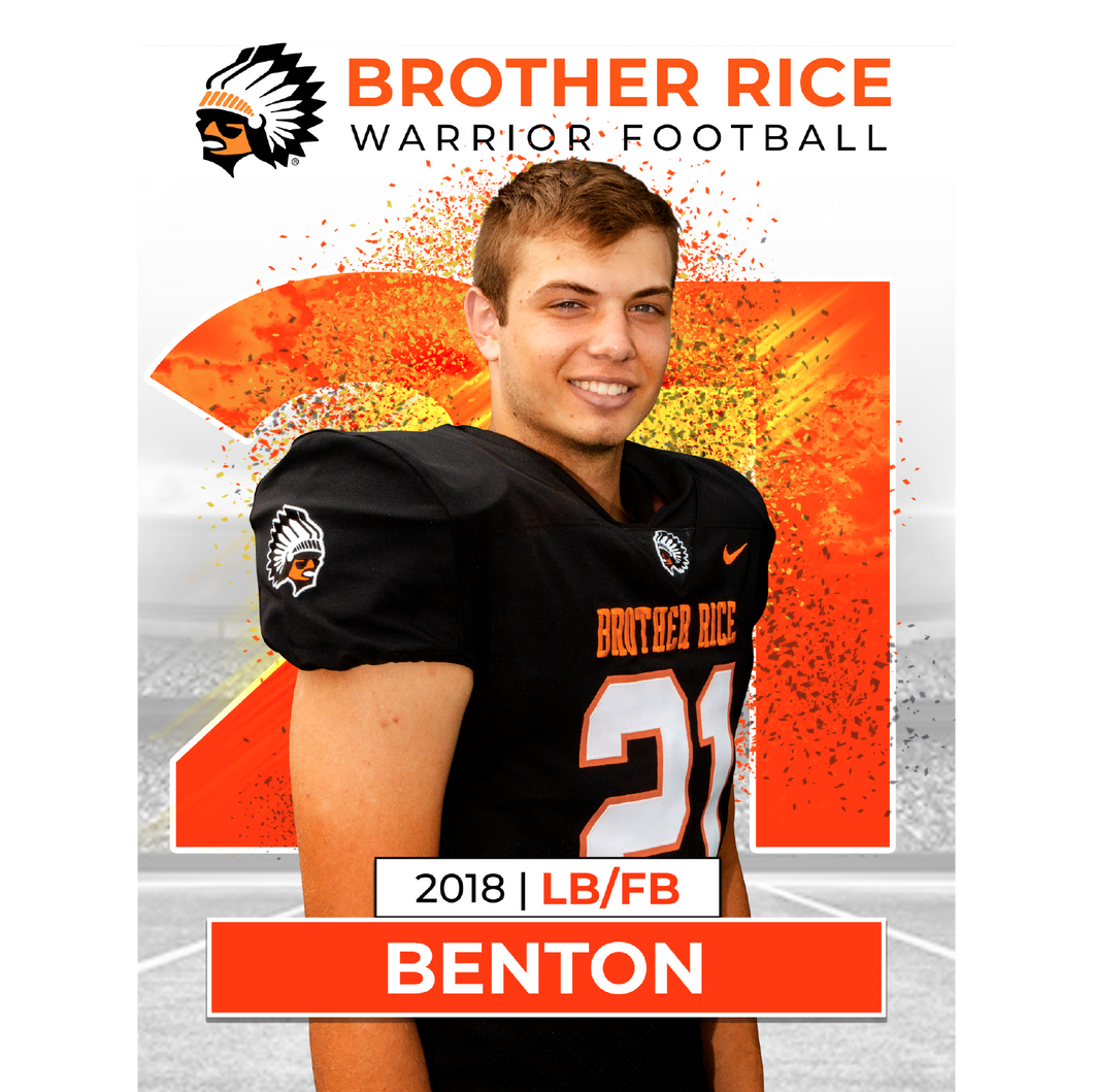 Senior Banner - Brother Rice Football