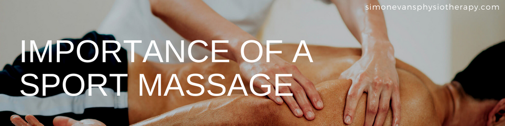 Importance of a Sport Massage