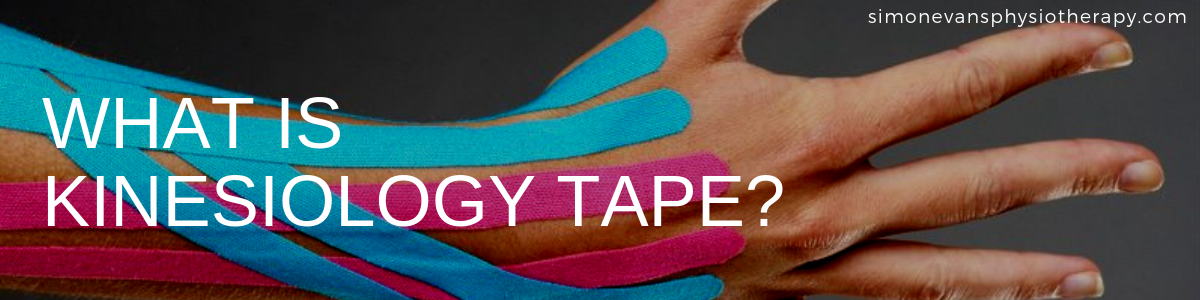 Kinesiology Tape Simon Evans Physiotherapy