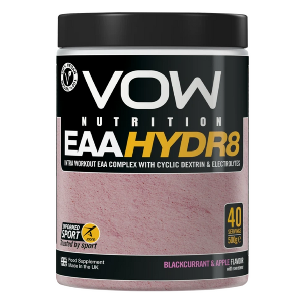 VOW EAA Hydr8 Blackcurrant and Apple Supplements Sports Simon Evans Physiotherapy