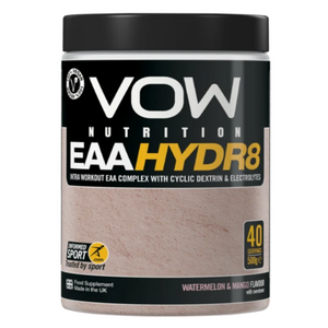 VOW EAA Hydr8 Watermelon and Mango  Supplements Sports Simon Evans Physiotherapy