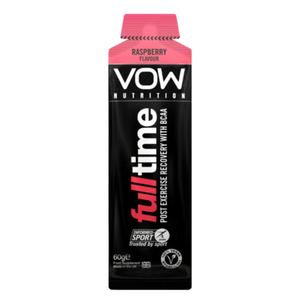VOW Full Time Recovery BCAAs Energy Sachet Supplements Sports Simon Evans Physiotherapy