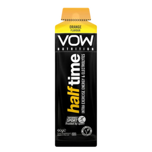 VOW Half Time Intra Exercise Energy Hydration Sachet Supplements Sports Simon Evans Physiotherapy