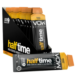 VOW Half Time Intra Exercise Energy Hydration Supplements Sports Simon Evans Physiotherapy