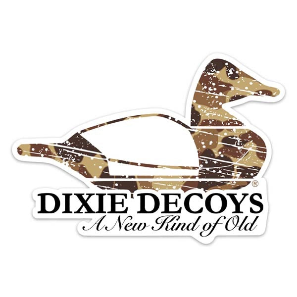 old school camo decal sticker