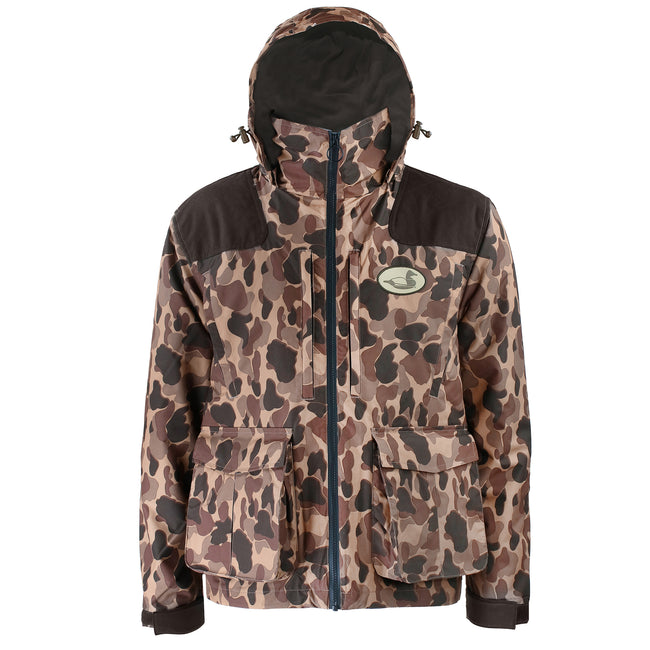 old school camo duck hunting jacket