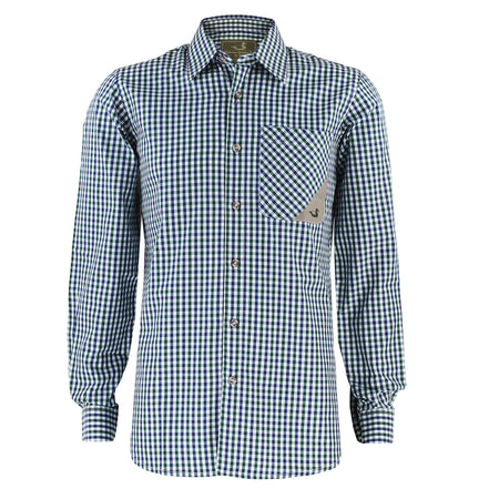 men's tattersall sport shirt