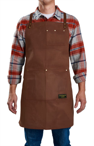 Heavy Duty Aprons (Leather Straps)