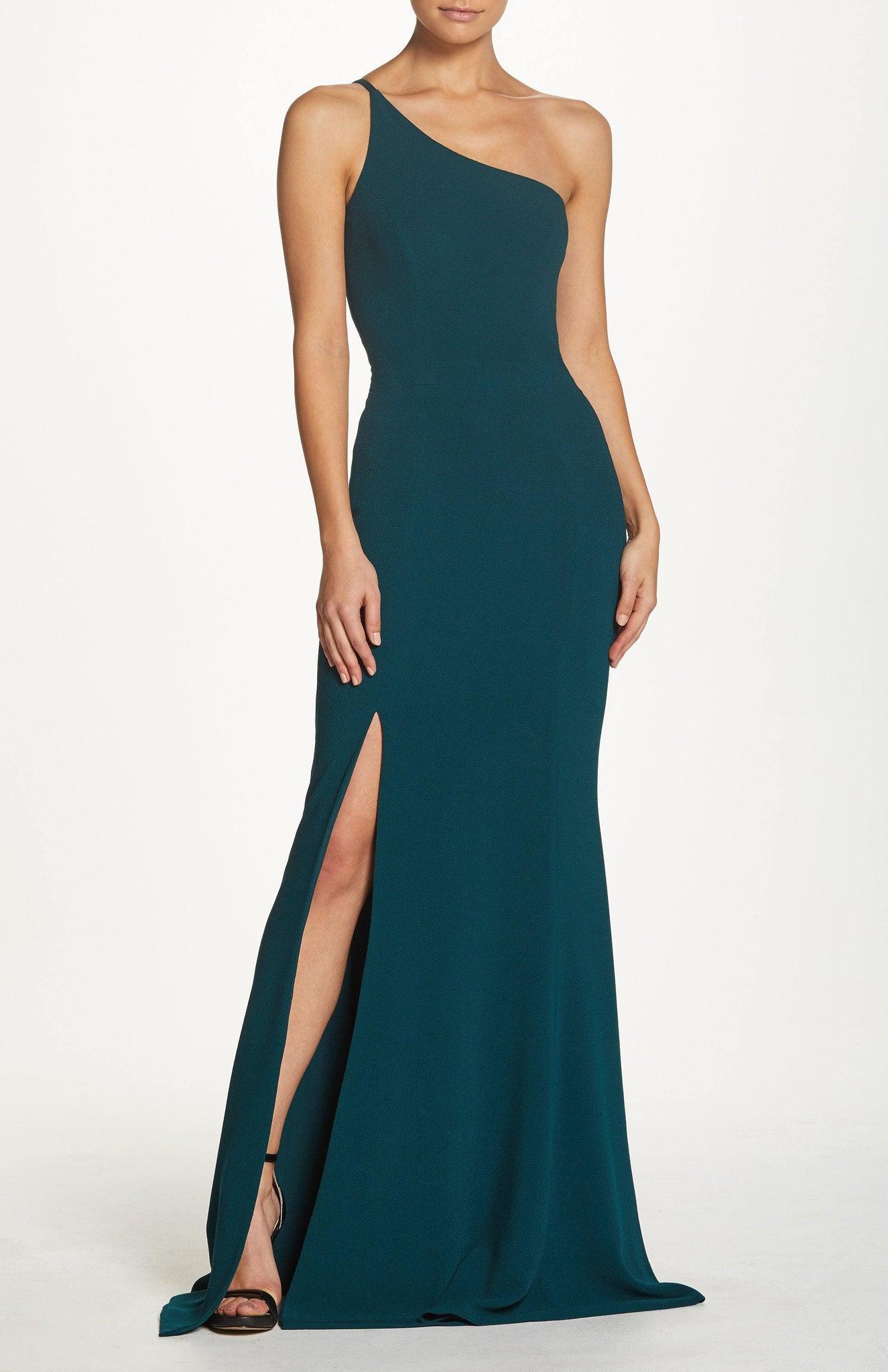 Amy One Shoulder Mermaid Gown
