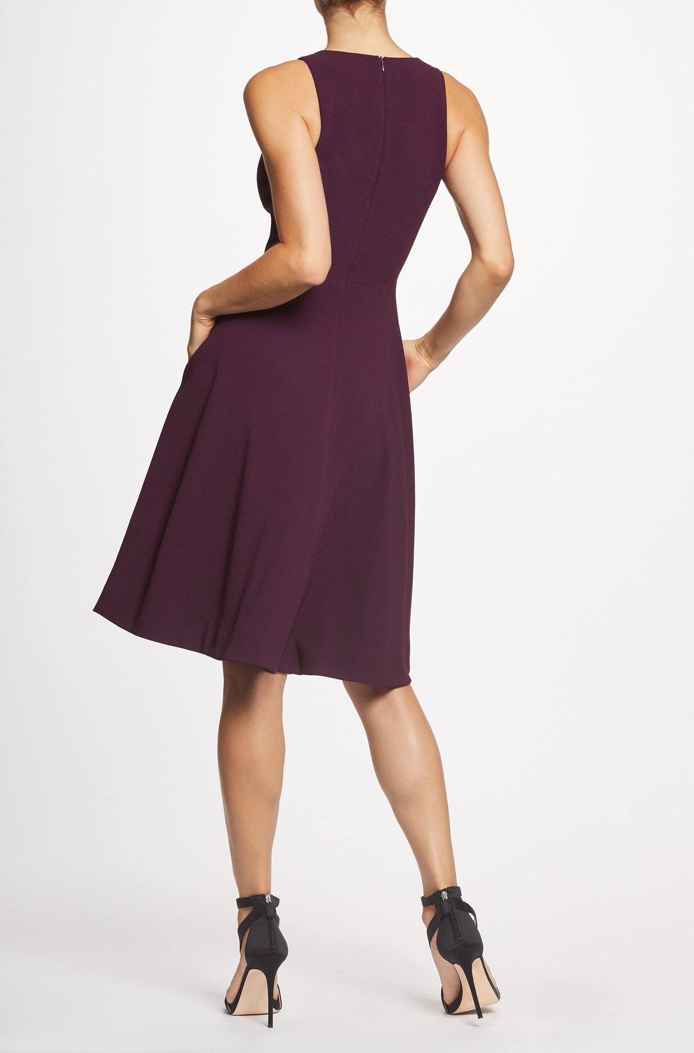 Catalina Crepe Fit and Flare