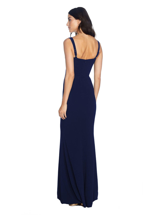 Estella Sweetheart Fit and Flare Maxi Dress