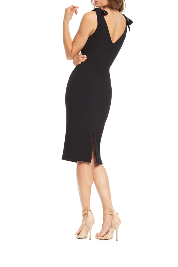 Lita Tie-up Strap Midi Dress