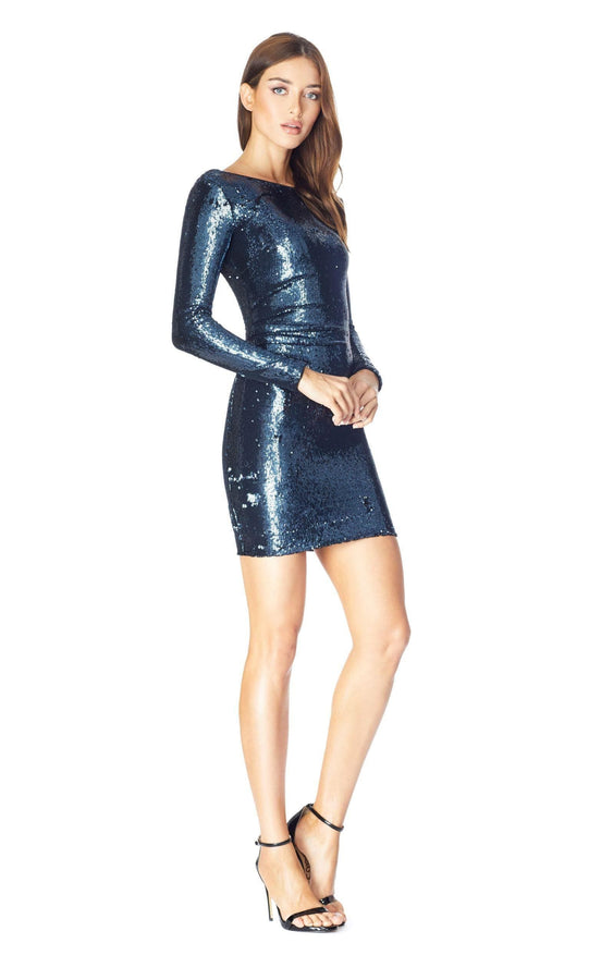 Lolita Sequin Long Sleeve Minidress