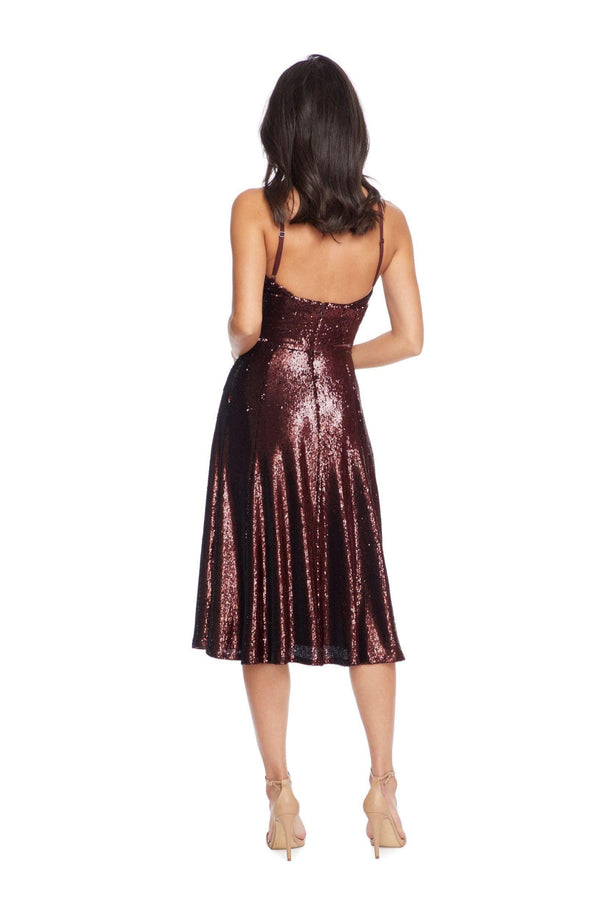 Mimi Sequin Cocktail Dress