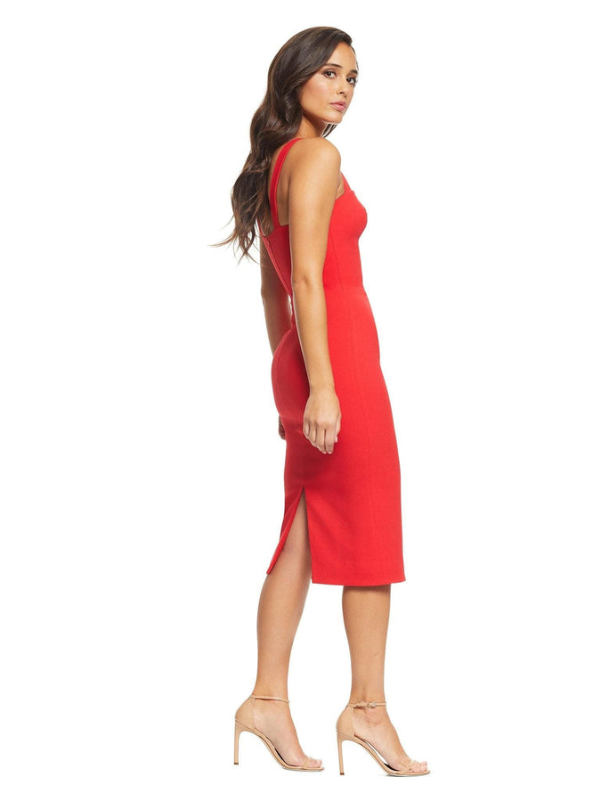 Nicole Sweetheart Neck Cocktail Dress