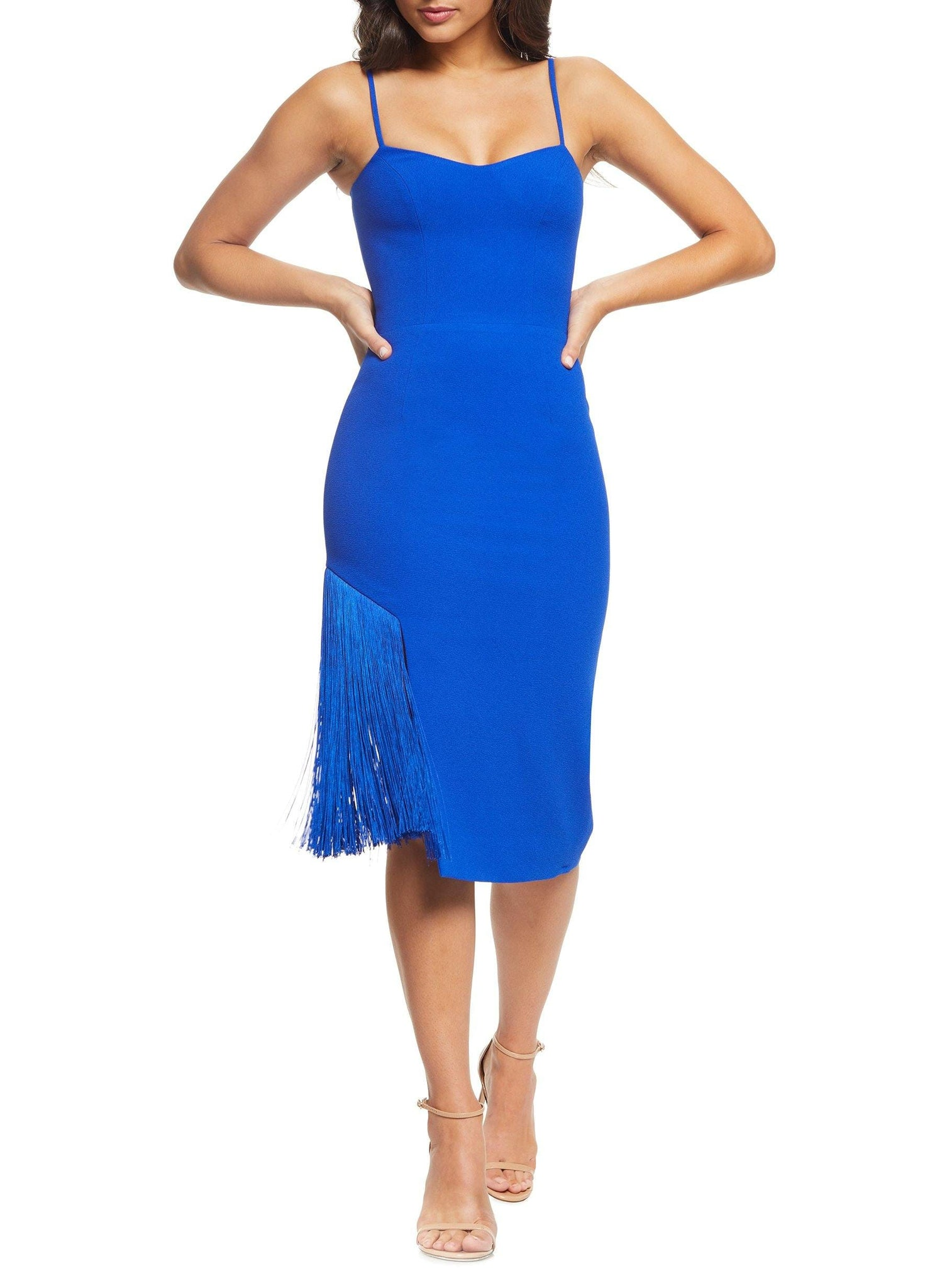 Rory Fringe Sheath Midi